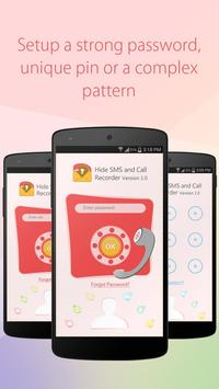 Hide SMS and Call Recorder poster