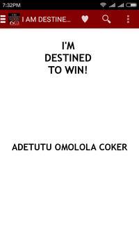 I'm Destined To Win apk screenshot