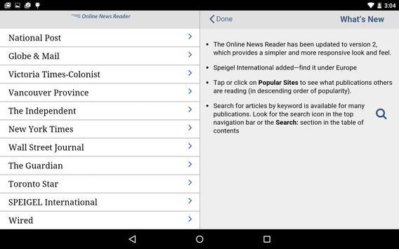 Online News apk screenshot
