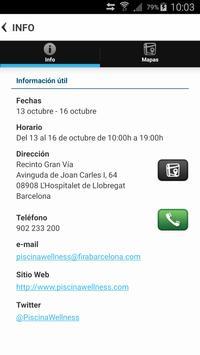 Piscina & Wellness Barcelona apk screenshot
