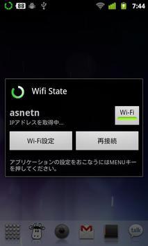 Wifi State+ apk screenshot