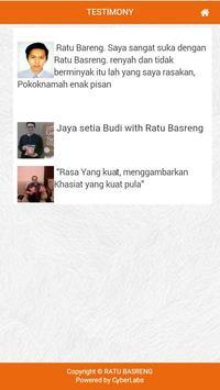 Ratu Basreng apk screenshot