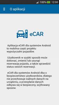 eCAR apk screenshot