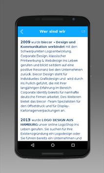 LOGO DESIGN AUS HAMBURG apk screenshot