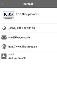 KBS Group GmbH apk screenshot