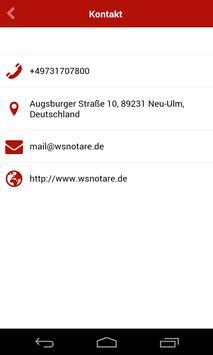 Notare Winkler & Stelzer apk screenshot