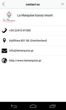 La Marquise luxury resort apk screenshot