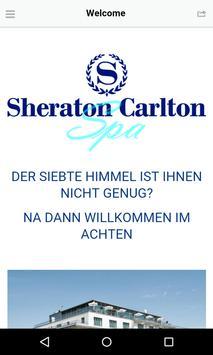 Sheraton Carlton Spa poster