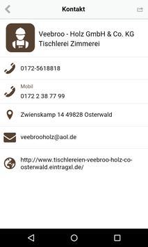 Veebroo - Holz GmbH apk screenshot