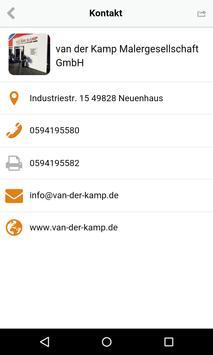 van der Kamp Malergesellschaft apk screenshot