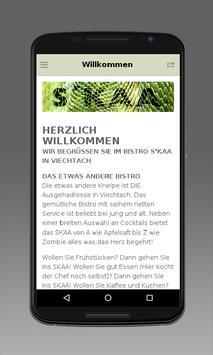 BISTRO & KNEIPE SKAA apk screenshot