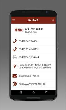 Immobilien Fink apk screenshot
