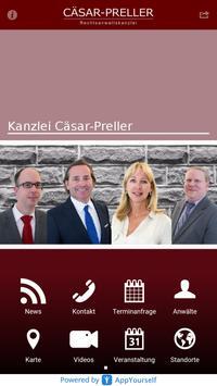 Kanzlei Cäsar-Preller poster