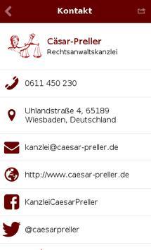 Kanzlei Cäsar-Preller apk screenshot