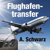 Flughafentransfer Schwarz icon