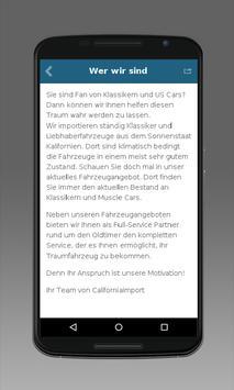 Californiaimport GmbH apk screenshot