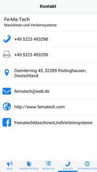 Fe-Ma-Tech apk screenshot