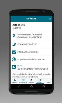 Arthro Klinik apk screenshot