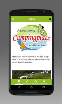 Camping in Thüringen poster