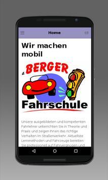Fahrschule Berger poster