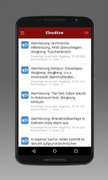 Feuerwehr Wegberg 2 apk screenshot