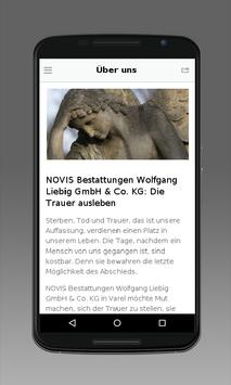 NOVIS Bestattungen apk screenshot