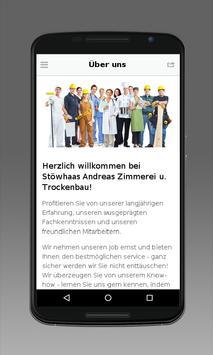 Zimmerei & Trockenbau Stöwhaas apk screenshot
