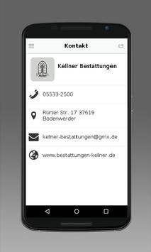 Bestattungen Kellner apk screenshot
