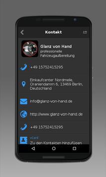 Glanz von Hand apk screenshot