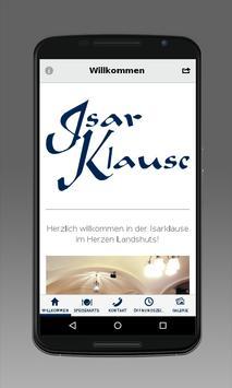 Weinstube Isarklause poster