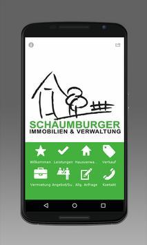 Schaumburger Immobilien poster