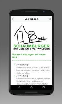 Schaumburger Immobilien apk screenshot