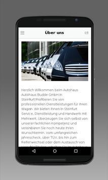 Autohaus Budde GmbH apk screenshot