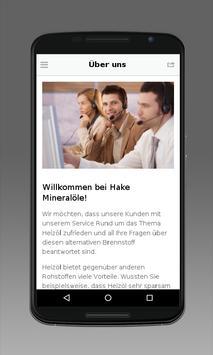 Hake Mineralöle apk screenshot