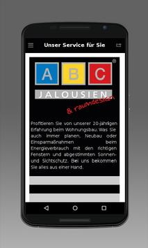 ABC-Jalousien apk screenshot