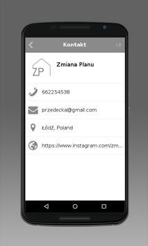 Zmiana Planu apk screenshot