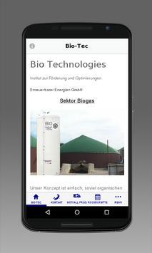 1. Biogas Notfall App poster