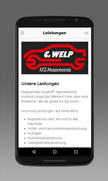 C. Welp KFZ-Meisterbetrieb apk screenshot