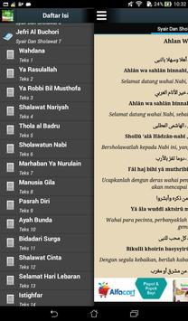 Syair Dan Sholawat Nabi apk screenshot