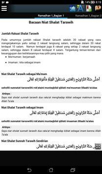 Tuntunan Ibadah Ramadhan poster