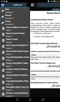 Tuntunan Ibadah Ramadhan apk screenshot