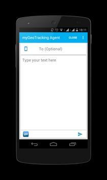 myGeoTracking Agent apk screenshot
