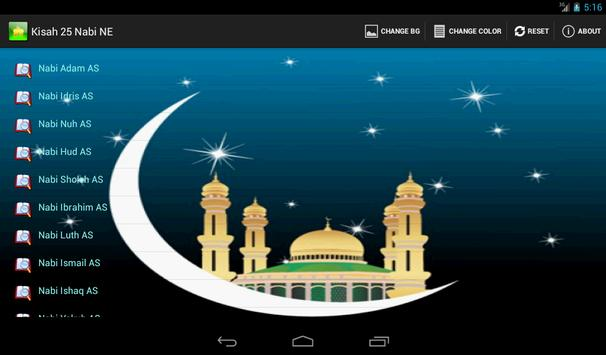 Kisah 25 Nabi New Edition apk screenshot
