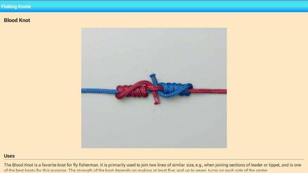 Useful Fishing Knots apk screenshot
