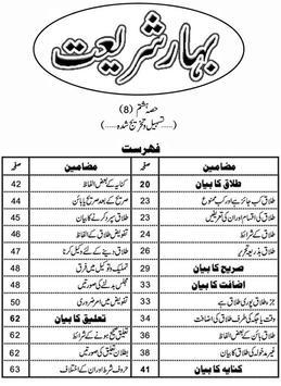 Bahar e Shariat Part 8 poster