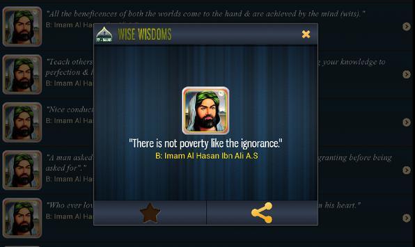 Wise Wisdoms apk screenshot