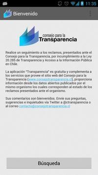 Transparencia poster