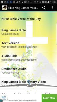 Bible King James Audio & Text poster