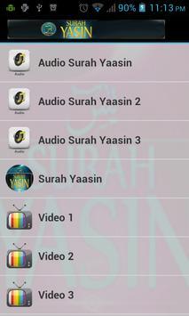 Surah Yassin Pocket apk screenshot