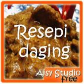 Resepi Daging icon